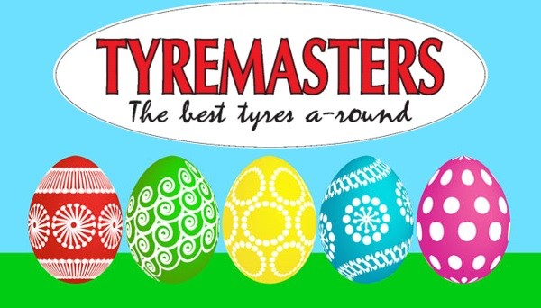 Easter Eggs from Tyremasters